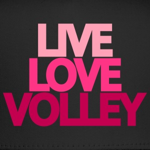 Live Love Volley (ball) Hooded Sweatshirt - Trucker Cap