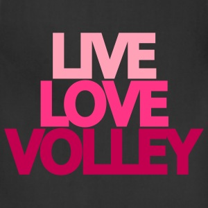 Live Love Volley (ball) Hooded Sweatshirt - Adjustable Apron
