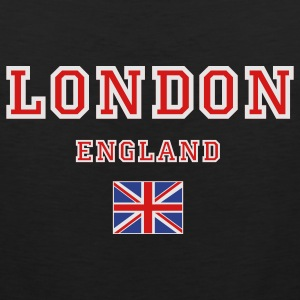 Black London, England Women's T-shirts - Men's Premium Tank