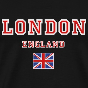 Black London, England Tanks - Men's Premium T-Shirt