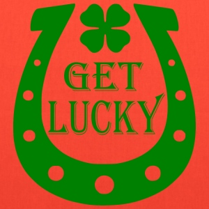 Brown Get Lucky T-Shirts - Tote Bag