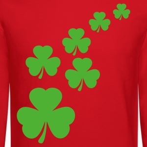 Kelly green Shamrocks Women's T-shirts - Crewneck Sweatshirt