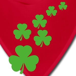 Kelly green Shamrocks Women's T-shirts - Bandana