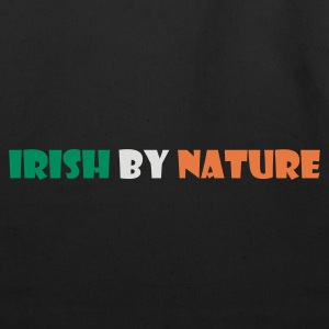 Black Irish by Nature T-Shirts - Eco-Friendly Cotton Tote