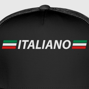 Black italiano T-Shirts - Trucker Cap