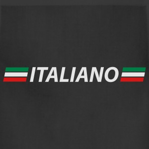 Black italiano T-Shirts - Adjustable Apron
