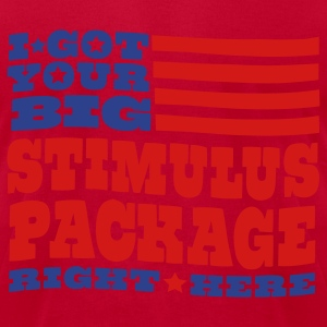 Stimulus Package - Men's T-Shirt by American Apparel