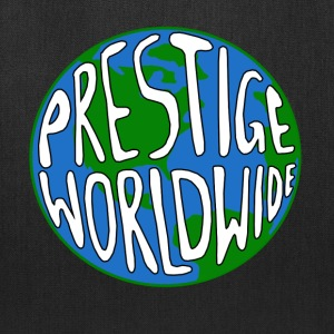 White Prestige Worldwide Step T-Shirts - Tote Bag