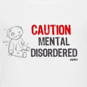 White mental disordered by wam Kids Shirts - Toddler Premium T-Shirt