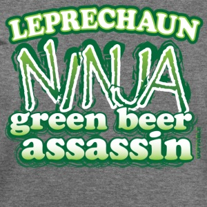 Leprechaun NINJA - Women's Wideneck Sweatshirt