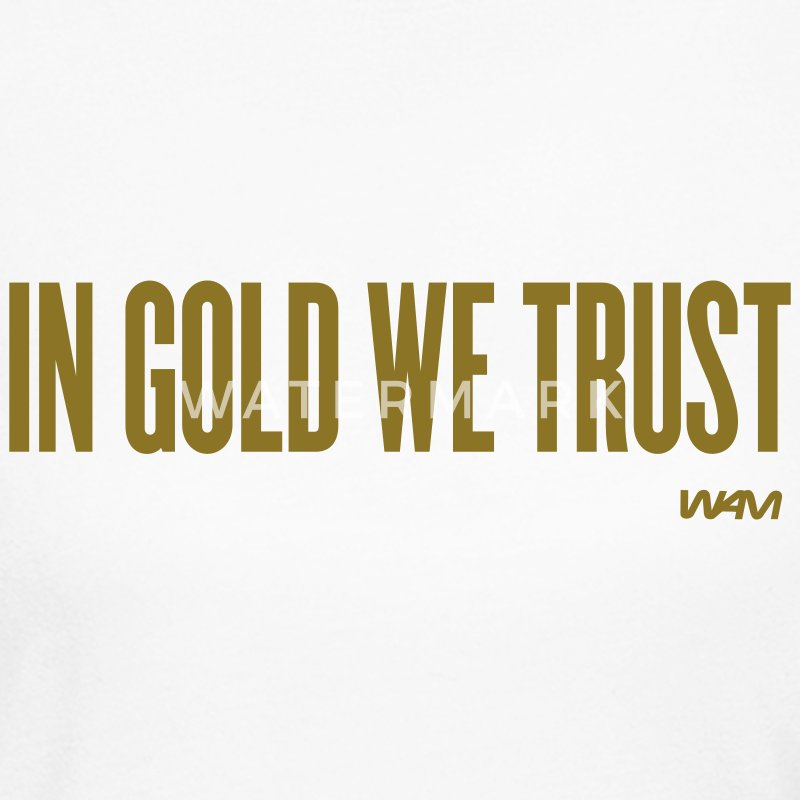 White in gold we trust by wam Long sleeve shirts - Women's Long Sleeve Jersey T-Shirt