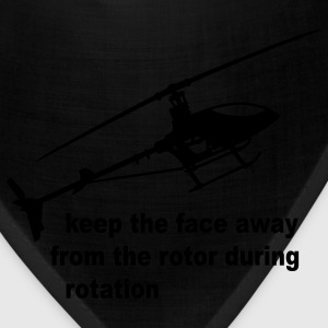 Lemon helicopter rotor warning T-Shirts - Bandana