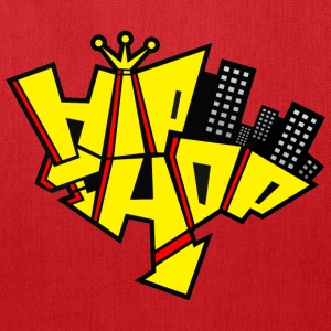 Red Hip Hop T-Shirts - Tote Bag