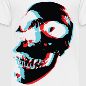 3 Color Skull - Toddler Premium T-Shirt