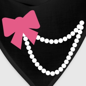 Bow and Pearls Tshirt - Bandana