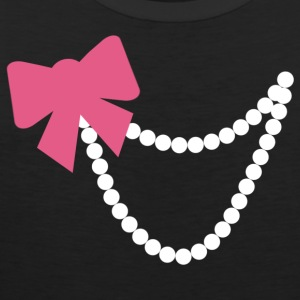 Bow and Pearls Tshirt - Men's Premium Tank