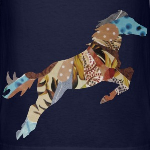Navy STALLION Sweatshirts - Men's T-Shirt