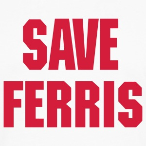 White save_ferris_trans_eps T-Shirts - Men's Premium Long Sleeve T-Shirt