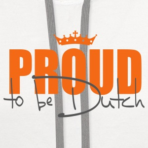 Proud to be Dutch - Contrast Hoodie