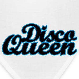 White Disco Queen Women's T-shirts - Bandana
