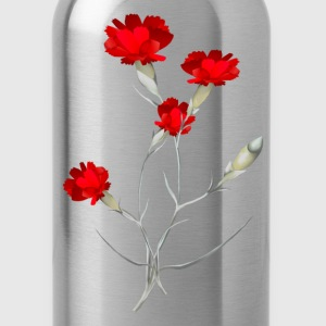 Carnations - Water Bottle
