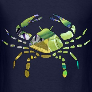 Navy CANCER The CRAB Sweatshirts - Men's T-Shirt