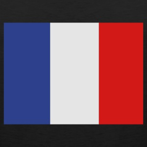 Black French Flag T-Shirts - Men's Premium Tank