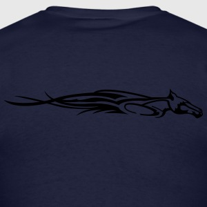 Navy Flamen' Horse Hoodies - Men's T-Shirt
