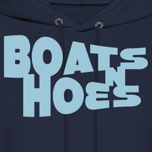 Navy Boats N Hoes Women's T-Shirts - Men's Hoodie