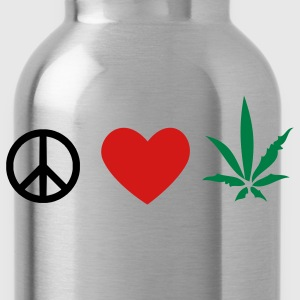 Weed Men's Hoody - Water Bottle