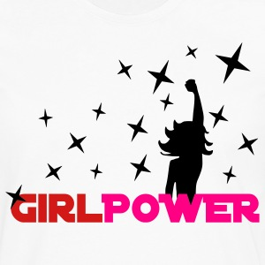 White Girl Power Stars 2 Women's T-Shirts - Men's Premium Long Sleeve T-Shirt