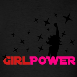 Black Girl Power Stars 2 Tanks - Men's T-Shirt