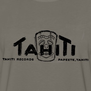 Olive Tahiti Records T-Shirts - Men's Premium Long Sleeve T-Shirt