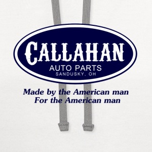 White Tommy Boy Callahan Auto T-Shirts - Contrast Hoodie