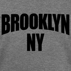 Deep heather Brooklyn NY New York Women's T-Shirts - Women's Wideneck Sweatshirt