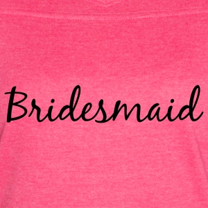 Bridesmaid Tank Top - Women's Vintage Sport T-Shirt