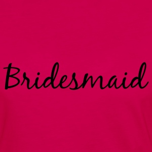 Bridesmaid Tank Top - Women's Premium Long Sleeve T-Shirt