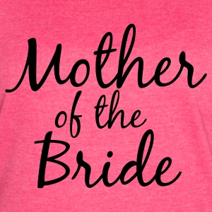 Mother of the Bride Tank - Women's Vintage Sport T-Shirt