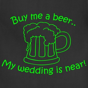 Asphalt Buy me a beer T-Shirts - Adjustable Apron