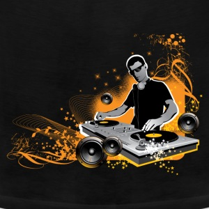 Orange DJ - Men's Premium Tank