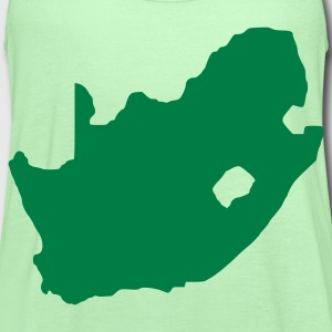 Bright green South Africa T-Shirts - Women's Flowy Tank Top by Bella