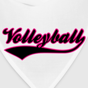 White volleyball  Women's T-Shirts - Bandana