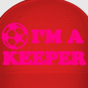I'm a Keeper Soccer Shirt - Baseball Cap