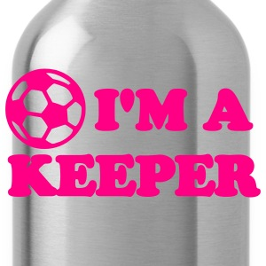 I'm a Keeper Soccer Shirt - Water Bottle