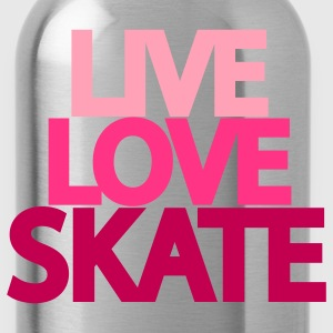 Live Love Skate Hooded Sweatshirt - Water Bottle