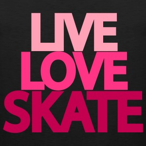Live Love Skate Hooded Sweatshirt - Men's Premium Tank