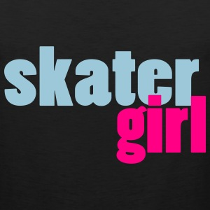 Skater Girl Women's T-Shirt - Men's Premium Tank