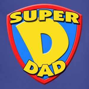 Super Dad Father's Day T-Shirt - Adjustable Apron