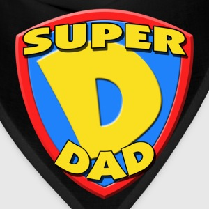 Super Dad Father's Day T-Shirt - Bandana