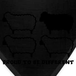 Different Sheep (Black Sheep) - Bandana